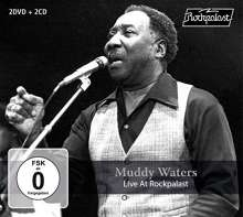 Muddy Waters: Live At Rockpalast 1978, 2 CDs und 2 DVDs