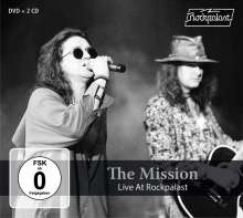 The Mission: Live At Rockpalast 1990 & 1995, 2 CDs und 1 DVD