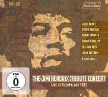 The Jimi Hendrix Tribute Concert: Live at Rockpalast 1991, 2 CDs und 1 DVD