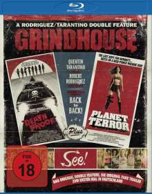 Grindhouse (Death Proof + Planet Terror) (Blu-ray), Blu-ray Disc