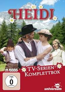 Heidi (Gesamtausgabe der TV-Serie), 4 DVDs