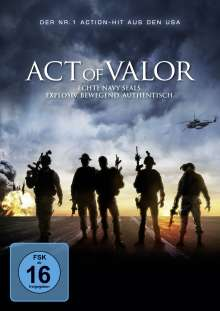 Act Of Valor, DVD