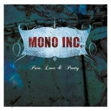 Mono Inc.: Pain, Love & Poetry (Limited Edition) (Transparent Magenta W/ Black Streaks Vinyl), LP