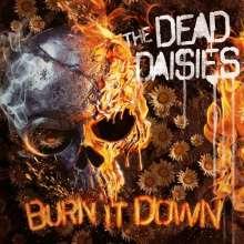 The Dead Daisies: Burn It Down (180g) (Limited-Edition) (Red/Black Splattered Vinyl), 1 LP und 1 CD