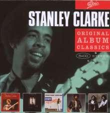Stanley Clarke (geb. 1951): Original Album Classics, 5 CDs