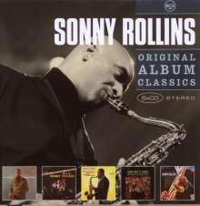 Sonny Rollins (geb. 1930): Original Album Classics, 5 CDs