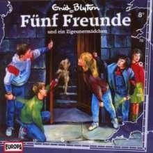 Fünf Freunde (Folge 008) und ein Zigeunermädchen, CD