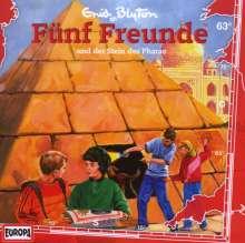 Fünf Freunde (Folge 063) und der Stein des Pharao, CD