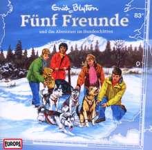 Fünf Freunde (Folge 083) und das Abenteuer im Hundeschlitten, CD