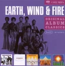 Earth, Wind & Fire: Original Album Classics, 5 CDs