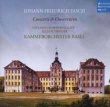 Johann Friedrich Fasch (1688-1758): Ouvertüren (Suiten) in D & g (FWV K:D3 & FWV K:g3), CD