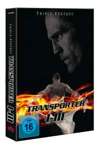 The Transporter 1-3, 3 DVDs