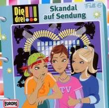 Die drei !!! Fall 06 - Skandal auf Sendung, CD