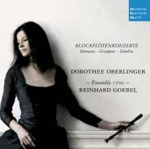 Dorothee Oberlinger - Blockflötenkonzerte des Barock, CD