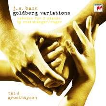 Johann Sebastian Bach (1685-1750): Goldberg-Variationen BWV 988 für 2 Klaviere (Wiederauflage für jpc), CD