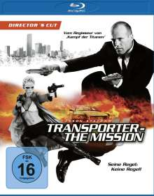 The Transporter - The Mission (Director's Cut) (Blu-ray), Blu-ray Disc