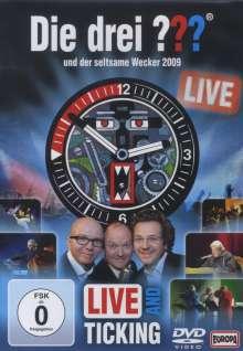 Die drei ??? - Der seltsame Wecker (Live and Ticking 2009), 2 DVDs