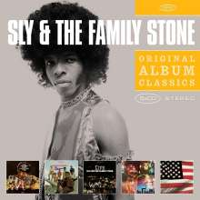 Sly & The Family Stone: Original Album Classics, 5 CDs