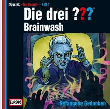 Die drei ??? (Top Secret Fall 1) - Brainwash, CD