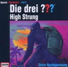 Die drei ??? (Top Secret Fall 3) - High Strung, CD