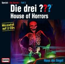 Die drei ??? (Top Secret Fall 2) - House of Horrors, 2 CDs