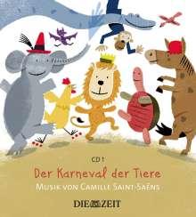Große Klassik für kleine Hörer - Karneval der Tiere, CD