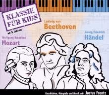 Klassik für Kids, 3 CDs