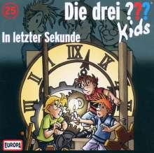 Die drei ??? Kids 25: In letzter Sekunde, CD