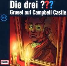 Die drei ??? (Folge 147) - Grusel auf Campbell Castle, CD