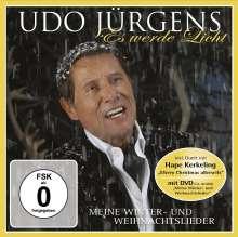 Udo Jürgens: Es werde Licht: Meine Winter-und Weihnachtslieder (CD + DVD), 1 CD und 1 DVD