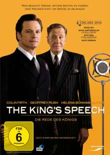 The King's Speech, DVD