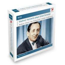 Vladimir Horowitz plays Great Sonatas, 10 CDs