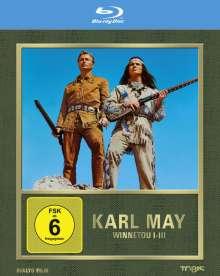Winnetou I-III (Blu-ray), 3 Blu-ray Discs
