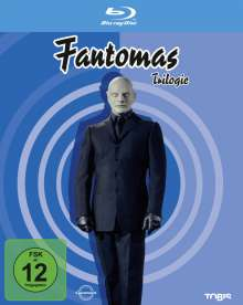 Fantomas - Die Trilogie (Blu-ray), 3 Blu-ray Discs