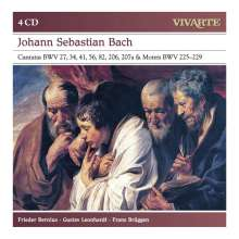 Johann Sebastian Bach (1685-1750): Kantaten BWV 27,34,41,56,82,206,207a, 4 CDs