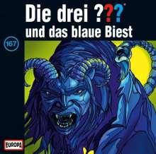 Die drei ??? (Folge 167) - und das blaue Biest, CD