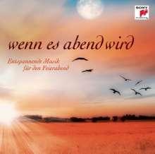 """Sony-Sampler """"Wenn es Abend wird"""", CD"""