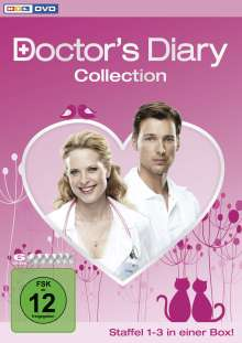 Doctor's Diary Staffel 1-3 (Komplettbox), 6 DVDs