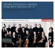 Georg Friedrich Händel (1685-1759): Concerti grossi op.3 Nr.1-6, CD