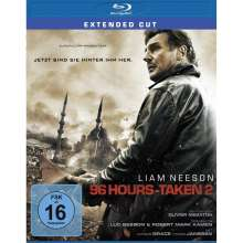 96 Hours: Taken 2 (Extended Cut) (Blu-ray), Blu-ray Disc