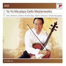 Yo-Yo Ma plays Cello Masterworks, 8 CDs