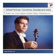 Itzhak Perlman - Concertos,Sonatas and more..., 9 CDs