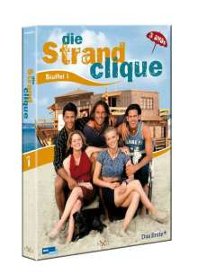 Die Strandclique Staffel 1, 3 DVDs