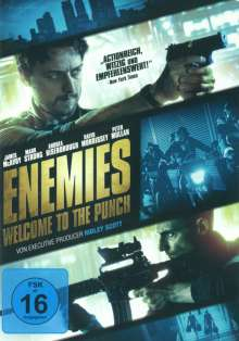 Enemies - Welcome to the Punch, DVD
