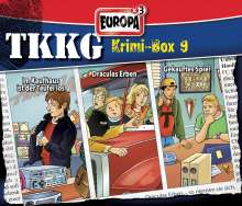 TKKG Krimi-Box 09, 3 CDs