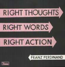 Franz Ferdinand: Right Thoughts, Right Words, Right Action (180g), LP