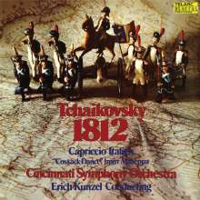 Peter Iljitsch Tschaikowsky (1840-1893): 1812 Ouvertüre op.49 (DMM Direct Cut / 180g), LP