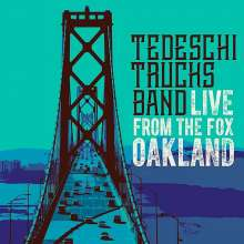 Tedeschi Trucks Band: Live From The Fox Oakland 2016 (Deluxe Edition), 2 CDs und 1 DVD