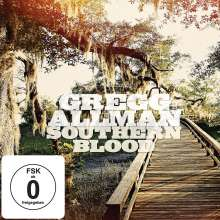 Gregg Allman: Southern Blood (Deluxe Edition), 1 CD und 1 DVD