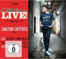 Cameron Carpenter - Cameron Live, 1 CD und 1 DVD